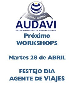 Calendario de Workshops correspondiente al año 2015